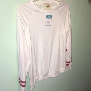 Fantastic Fawn Heart Elbow Patch Top